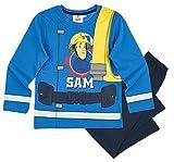 Feuerwehrmann Sam Kollektion 2017 Schlafanzug 98 104 110 116 122 128 134 140 Pyjama Fireman Sam Jungen Neu Blau (104 - 110; Prime, Blau-Marine)