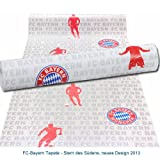 Rasch FC Bayern Tapete 0,53x10,05m Fußballtapete - neues Design