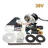 350W neuer Ankunfts-elektrischer geared Fahrrad-Motor-Installationssatz-elektrischer Umwerfer-Motor-Satz-variabler mehrfacher Geschwindigkeits-Fahrrad-elektrischer Installationssatz (36V Twist Kit)