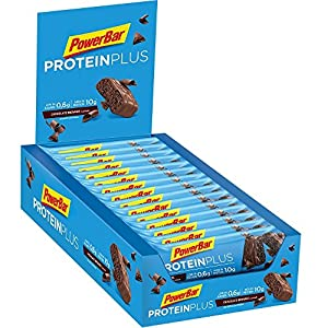PowerBar Protein Plus Riegel mit nur 107 Kcal - Low Sugar Eiweiß-Riegel,...
