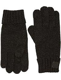 TOM TAILOR Herren Handschuhe Gloves Two-Colored, Mehrfarbig (Schwarz 2999), One size (Herstellergröße: OneSize)