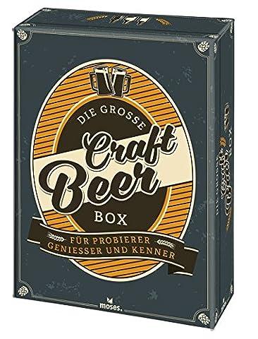 Die große Craft Beer Box: Für Probierer, Genießer & Kenner (Craft Geschenkboxen)