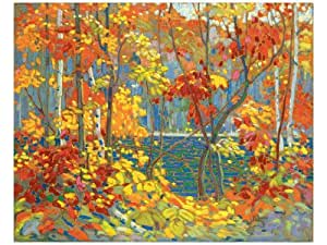 Le bassin by Tom Thomson, 122x92