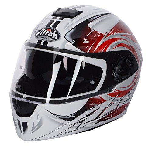 Preisvergleich Produktbild Helm Airoh Integralhelm Storm Anger Red Gloss XXL