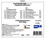 Josef Myslivecek: Symphonies; 5 Overtures