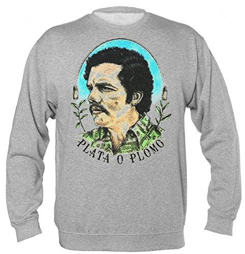 escobar-plata-o-plomo-dolar-shirt-design-unisex-sweatshirt-small