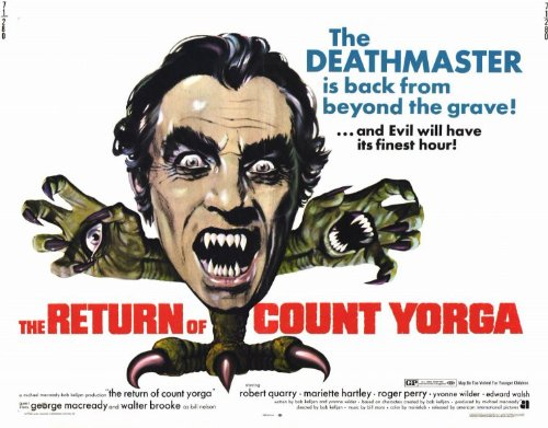 The Return of Count Yorga Plakat Movie Poster (11 x 14 Inches - 28cm x 36cm) (1971)