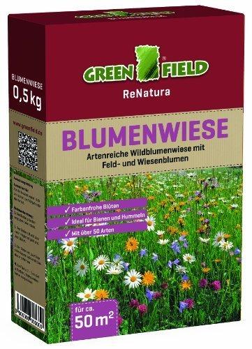 Greenfield 63205 prato fiorito 0,5 kg per circa 50 mq