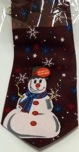 Christmas Musical Tie / SANTA / REINDEER / SNOWMAN Novelty Office Party