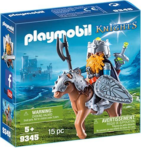 Playmobil Combattant Nain et Poney, 9345