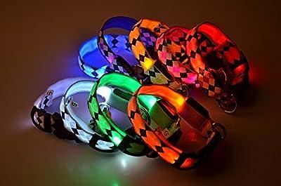 Zrong LED Halsband Light - LED Leuchtschlauch Leuchthalsband Hundehalsband Hund