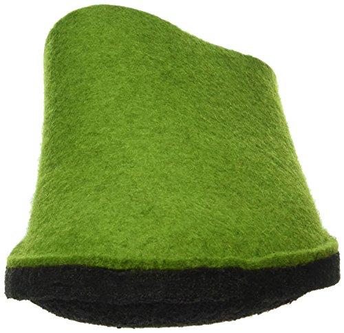 Haflinger Soft, Chaussons mixte adulte Vert - Grün (Grasgrün 36)