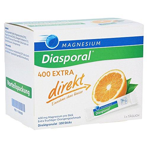 Magnesium-Diasporal 400 EXTRA direkt, 100 St. Direktgranulat