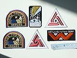 ALIEN Movie Weyland Nostromo USCM Colonial Marines Eagle Crew [7 patch set] Bügelbild Aufnäher Applikation Emblem