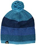 SALEWA Puez Pom 2 K Beanie, Cappellino a Righe Colorate Unisex Adulto