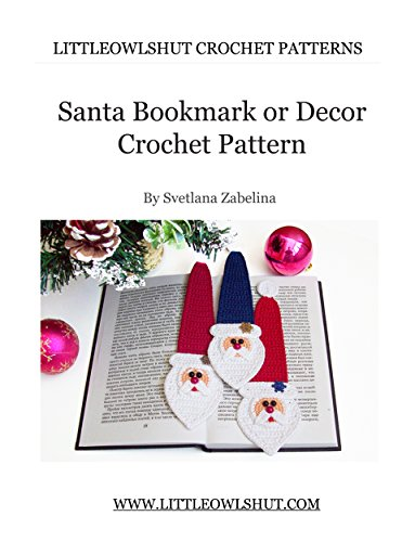 Bookmark Crochet Pattern Amigurumi LittleOwlsHut Ebook