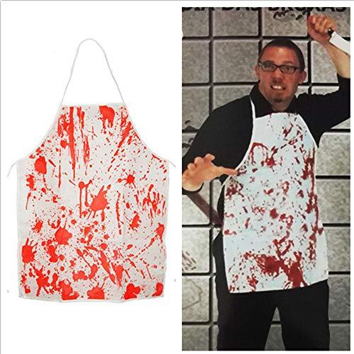 Kostüm Cosplay Awesome - XTF Halloween Kostüm COS Cosplay Bloody Butcher Killing Bloody Schürze Horror Scary Awesome Schürze