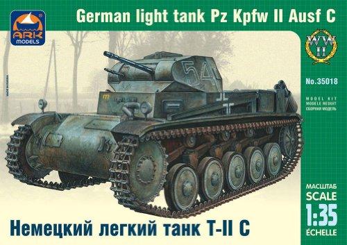 ARK Models AK35018 - German Light Tank Panzerkampfwagen II Ausführung C