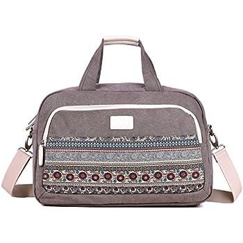 Sac fourre-tout pour femme (sac de gym, sac de maternité, sac de voyage, bagage à main) (5520 Floral)