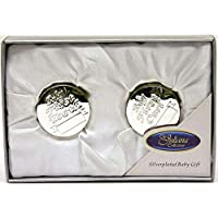 Juliana Silver Plated First Tooth and First Curl Boxes 6312TC