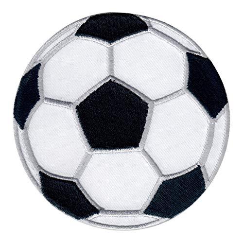 patchmommy toppa termoadesiva pallone da calcio palla sport patch ricamate per ferro da stiro - applicazioni toppe termoadesive bambini