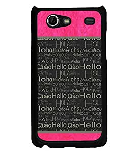 Fiobs Designer Back Case Cover for Samsung Galaxy S Advance i9070 (God Bhagvan Temple Dress Sports Typography Spritual)