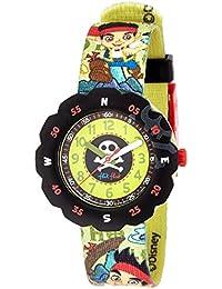 Flik Flak Unisex Kinder Armbanduhr Datum klassisch Quarz Stoff FLSP005