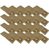 20 sacs d'aspirateur en papier pour Kärcher NT 35/1AP résistant aux chocs