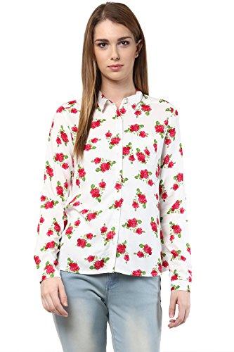 Honey By Pantaloons Women's Regular Collar Blouse