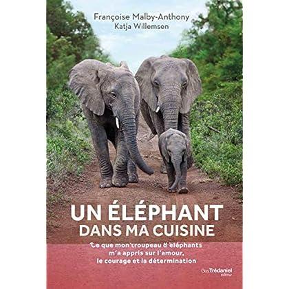 Un éléphant dans ma cuisine : Leçons de courage, de détermination et d'amour inspirées par un troupeau d'éléphants