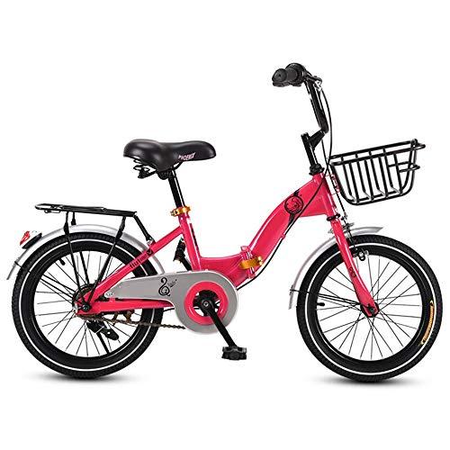 NBWE Kinder Klappfahrrad Mädchen Fahrrad Grund- und Mittelschule Auto Kind Kinderwagen Fahrrad 16 Zoll 20 Zoll Off-Road Cycling