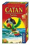 KOSMOS - CATAN Junior Mitbringspiel, kompaktes Brettspiel für Kinder ab 6 Jahren, Strategiespiel für 2 - 4 Spieler, Geschenk für den Kindergeburtstag