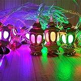 #8: TECHNO E-TAIL Lantern LED String Lights for Diwali Christmas Decoration