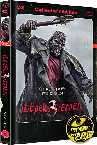 Jeepers Creepers 3 - Limited Collector's Edition - Mediabook - Limitiert auf 444, Cover A (+ DVD) [Blu-ray]