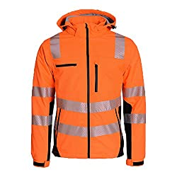 ASATEX Prevent Trendline Softshelljacke PTW-SP, orange/schwarz, Gr. L