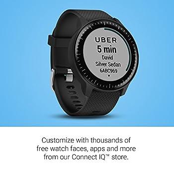 Garmin Vivoactive 3 Music GPS Smartwatch with Music Storage and Playback Black (Renewed)