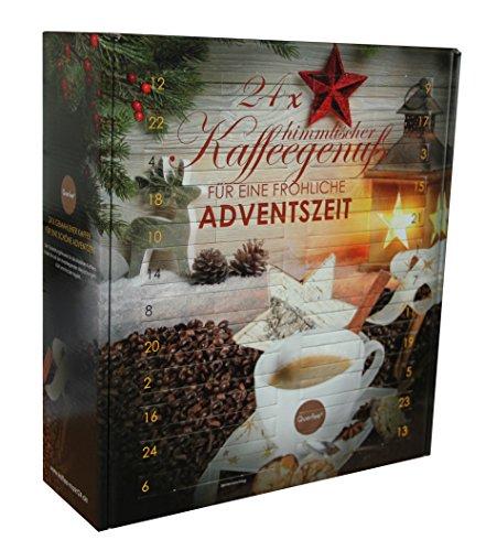 Kaffee Adventskalender aromatisiert & nicht aromatisiert