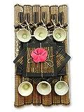 Thai Gifts Chopsticks Set - Full Table Setting for Six - Design B - Ceramic