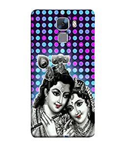 PrintVisa Designer Back Case Cover for Huawei Honor 7 :: Huawei Honor 7 (Enhanced Edition) :: Huawei Honor 7 Dual SIM (Ram Rama Ganesh Ganapati Krishna Srikrishna Kisna Kanayya Kanaiyah Mohana)