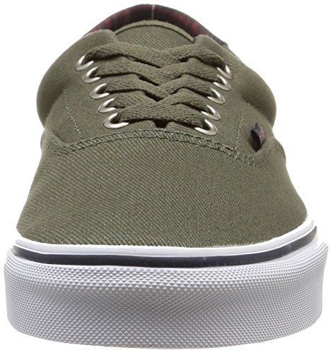 Vans U Era 59 Plaid, Sneakers Basses Mixte Adulte Vert (Plaid/Ivy Green)