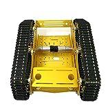 perfk Intelligente Robotik Kesselwagen Chassis Kits Track Crawler für Arduino Wissenschaft Lernspielzeug