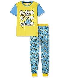 Minions Despicable Me Chicos Pijama - Amarillo