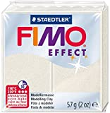 STAEDTLER FIMO Effect 8020-08 Oven Hardening Modelling Clay, 57 g - Metallic Mother of Pearl