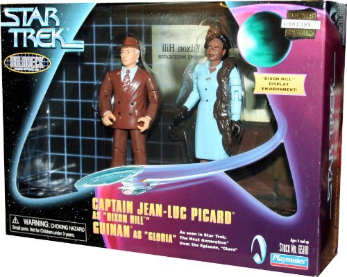 Holodeck Series (STAR TREK Holodeck Series PICARD/DIXON HILL AND GLORIA 10cm Figuren SET)