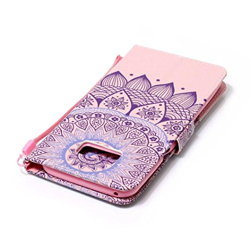 Cas pour Samsung Galaxy S8/Samsung Galaxy S8 plus, Malloom Coquille Gaine Support à poche Flip Housse en PU cuir C