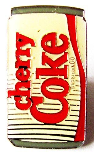 Coca Cola - Cherry Coke - Dosenform - Pin 27 x 15 mm (Coca Kostüme Cola)
