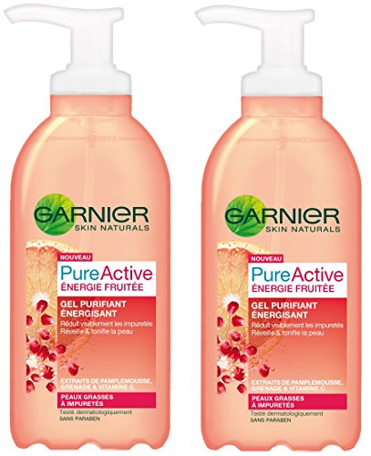 garnier-pure-active-nettoyant-gel-energie-fruitee-gel-purifiant-energisant-lot-de-2