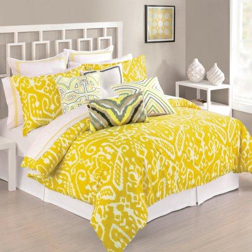 trina-turk-set-copripiumino-per-letto-matrimoniale-king-motivo-ikat-colore-giallo