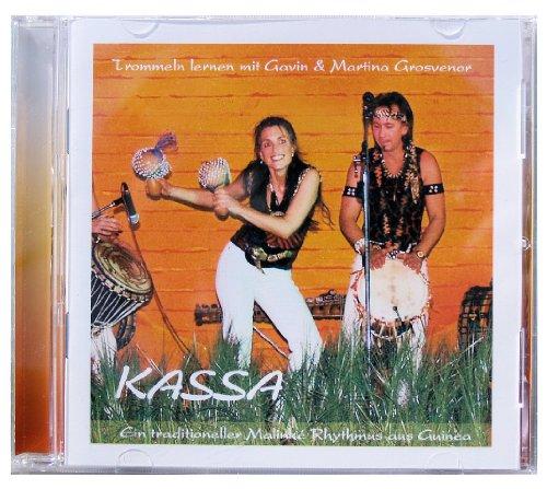 Djembé Art CD 'Kassa' zum afrikanischen Djembé Trommeln lernen