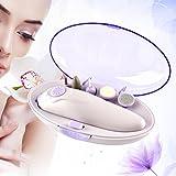 Elektrisch Nagelfeile Beweglicher Manikure Pedicure Set Multi Funktions Personliche Nagelpflege Nail Art Ausrustung mit 5 Austauschbaren Kopfen CoFashion